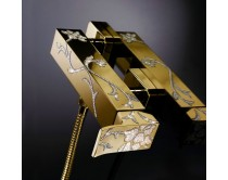 zlatá baterie sprchová Maier Luxury