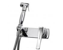 baterie bidetová s ruční sprchou Maier, chrom