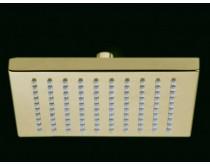 zlatá sprcha hlavová hranatá 200 mm Maier