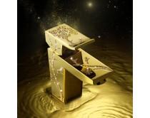 zlatá baterie umyvadlová Maier Luxury