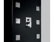 tryska sprchová hranatá 10 cm Maier, chrom