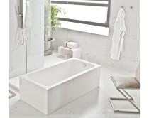 dlažba aspetto bianco natural 60x120, styl mramor, bílá