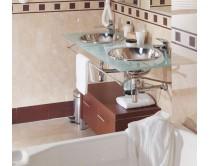 dlažba marmo toscana crema leštěná 44x44, styl mramor, béžová