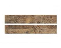 dlažba EMI natural dekor 20x120, styl dřevo, hnědá