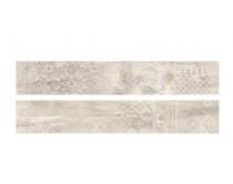 dlažba EMI natural dekor 20x120, styl dřevo, bílá