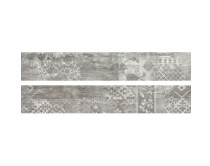 dlažba EMI natural dekor 20x120, styl dřevo, šedá