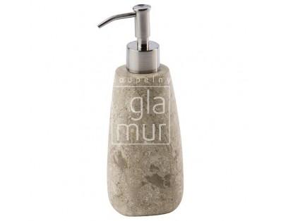 dávkovač mýdla z mramoru Aquanova Conor, béžový