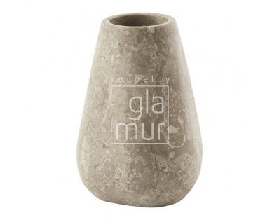 pohárek z mramoru Aquanova Conor, béžový
