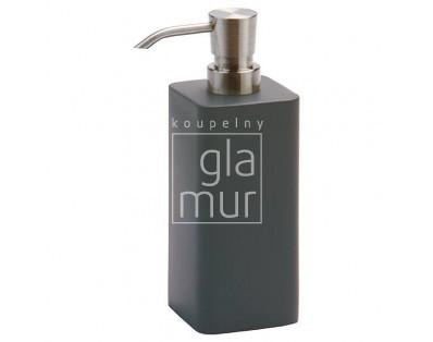 dávkovač mýdla L Aquanova Ona, tmavě šedý