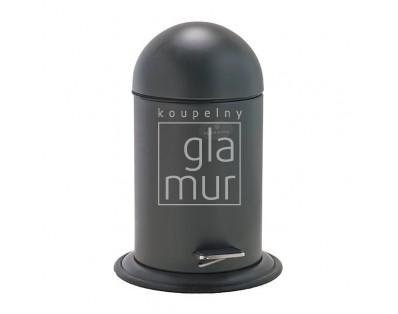 koš odpadkový Aquanova Ona, tmavě šedý