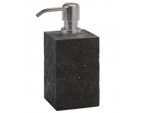 dávkovač mýdla Aquanova Slate, černý
