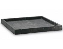 tác 30x30 Aquanova Slate, černý