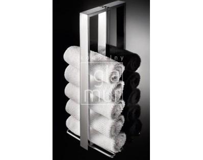 držák ručníků vertikální 400 mm Lineabeta Skuara, chrom