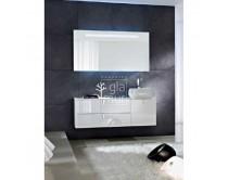 zrcadlo s páskem LED osvětlení, výška 70cm, šířka dle nabídky, NYÚ, Idea