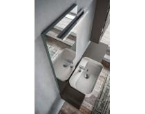 zrcadlo s hliníkovým profilem, výška 210 cm, šířka 45 nebo 60 cm, bez osvětlení, Idea
