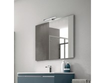 zrcadlo 105x70x2,7 cm s LED osvětlením, Idea