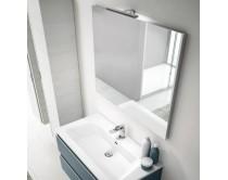 zrcadlo s LED osvětlením, 60-120x70 cm, BASIC, Idea