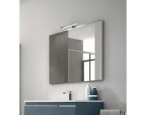 zrcadlo 75x70x2,7 cm s LED osvětlením, Idea