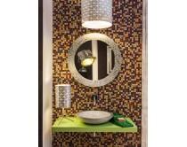 zrcadlo Ø80 cm, ROTONDA, Idea Deko - výprodej