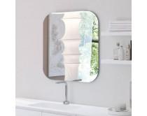 zrcadlo s LED osvětlením, 80x80 cm, CUBIK, Idea