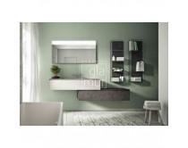 zrcadlo s LED osvětlením výška 60 cm, šířka různá, LUCE, Idea