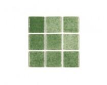 mozaika Niebla, 32 x 32 cm, zelená