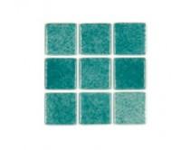 mozaika Niebla, 32 x 32 cm, zelenomodrá