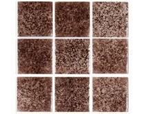 mozaika Niebla, 32 x 32 cm, hnědá