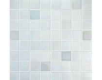 mozaika X-tura, 32 x 32 cm, barva bílá-perleťová