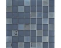 mozaika X-tura, 32 x 32 cm, barva šedo-hnědá