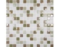 mozaika X-tura, 33,3 x 33,3 cm, barva bílo-béžovo-zlatá