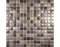 mozaika X-tura, 33,3 x 33,3 cm, barva zlato-hnědo-rezavá