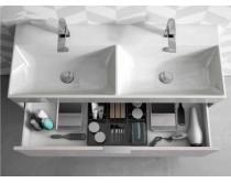 skříňka na postavení s dvojumyvadlem 120x45x81 cm, Idea Basic, výběr barev