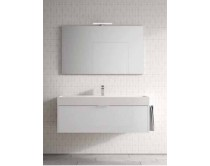 skříňka závěsná s umyvadlem 120x45x46 cm, Idea Basic, výběr barev