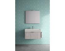 skříňka závěsná s umyvadlem 60x45x46 cm, Idea Basic, výběr barev