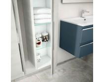 skříňka boční 155x35x22 cm, Idea Mistral, bílé lamino