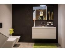 skříňka s umyvadlem/litý mramor 105x48,5x47,5 cm, Idea Smyle, bílá