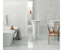 obklad DG marmo nuli bianco 30x60, styl mramor, bílý