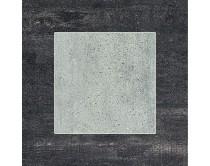 obklad EOS mat 30x30, styl cement-beton, šedo-černý