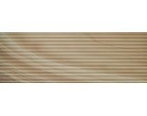 obklad LCH-FL 35x100, plastický obklad 3D, lesklý, hnědý