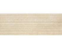 obklad LPL-FL-BCL 35x100, plastický obklad 3D, lesklý, tmavě béžový