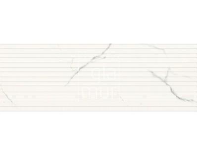 obklad LPL-FL-ST 35x100, plastický obklad 3D, lesklý, bílý