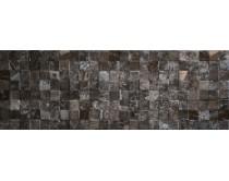 obklad mosaico recife antracita 32x90, plastický 3D, lesklý, černý