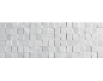 obklad mosaico rodano acero 32x90, styl cement-beton, matný, šedý