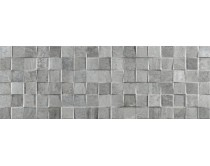 obklad mosaico rodano silver 32x90, styl cement-beton, matný, šedý