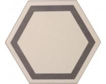 dlažba TEM-DE natural 15x17, styl dekor, krémovo-hnědá