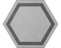 dlažba TEM-DE natural 15x17, styl dekor, světle šedá