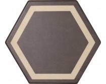 dlažba TEXM-DE natural 15x17, styl dekor, hnědo-krémová