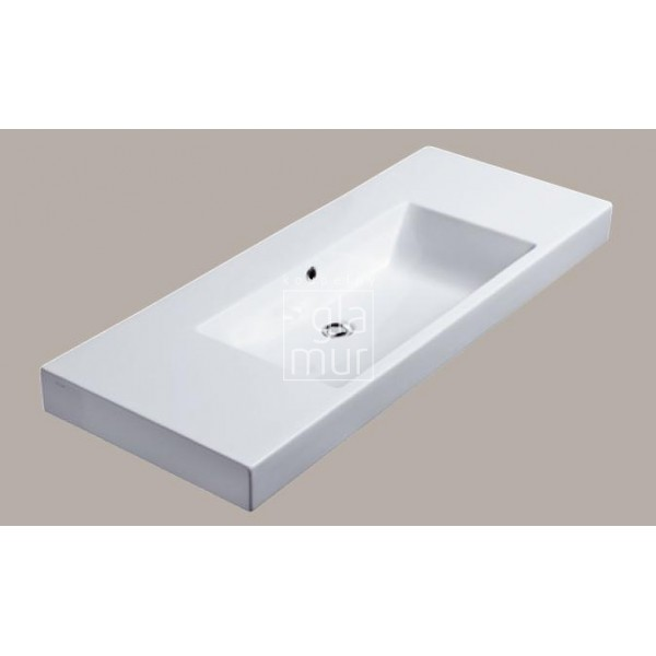 umyvadlo 125x50 catalano zero domino b l. Black Bedroom Furniture Sets. Home Design Ideas