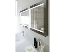 zrcadlo s LED osvětlením 120x60cm, Idea NYU